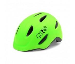 Cykelhjelm GIRO Scamp børnehjelm Str. 45-49 cm Mat lime