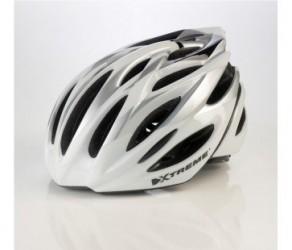 Cykelhjelm Xtreme X-OTW Str. 55-60 cm Sølv