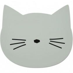 Dækkeserviet fra Liewood - Cat Dusty Mint