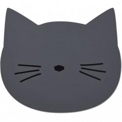 Dækkeserviet fra Liewood - Cat Stone Grey