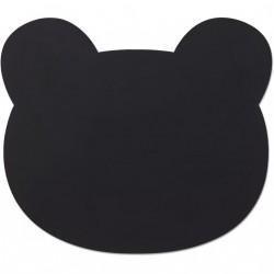 Dækkeserviet fra Liewood - Mr. Bear Black