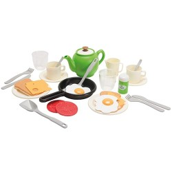 Dantoy legemad - Morgenmadssæt - Green Garden
