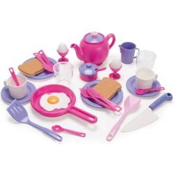 Dantoy legemad - Morgenmadssæt - Prinsesse - Svanemærket plast