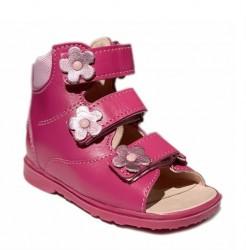 Dawid sandal, pink - pigesandal med ekstra støtte