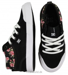 DC Shoes Sko - Evan Hi Se - Sort m. Blomster