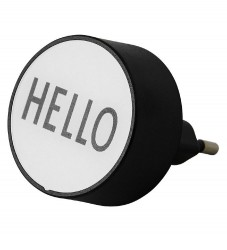 Design Letters Adapter - Hello - Hvid
