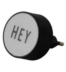 Design Letters Adapter - Hey - Grå