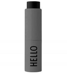 Design Letters Håndspritdispenser - Hello - 20 ml - Dark Grey