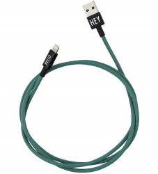 Design Letters Lightning Kabel - 1 m - Dark Green