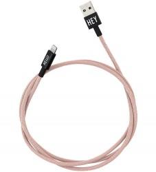 Design Letters Lightning Kabel - 1 m - Nude