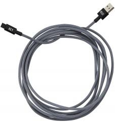 Design Letters Lightning Kabel - 3 m - Dusty Grey