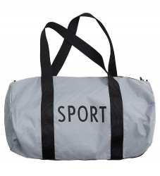 Design Letters Sportstaske - Lille - Grå