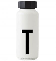 Design Letters Termoflaske - Hvid m. T