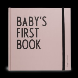 Designletters Baby's first book - Pink