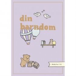 Din Barndom - Minder fra 1-7 år Lilla Illustration af Simone Thorup Eriksen