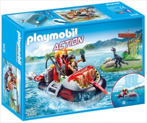 Dino hoovercraft med motor - PL9435 - PLAYMOBIL Action