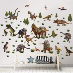 Dinosaur Land Wallstickers