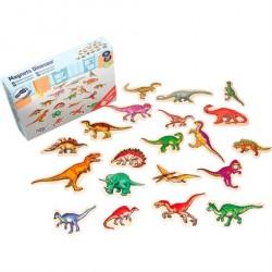 Dinosaur Magneter i træ
