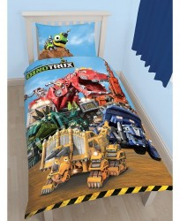 Dinotrux Mechanix 2i1 Design - 100 Procent Bomuld