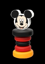 Disney Baby Wooden Rattle - Mickey
