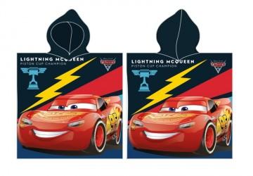 Disney Biler / Cars Poncho - 100 procent bomuld