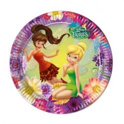 Disney Fairies pap Tallerkner 23 Cm
