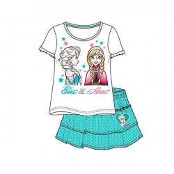 Disney Frost Elsa & Anna T-Shirt med Nederdel