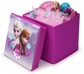 Disney Frost Sammenklappelig Skammel med Opbevaring