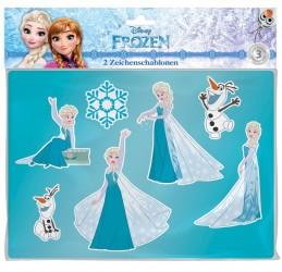 Disney Frost Tegneskabelon sæt til børn