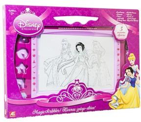 Disney prinsesse tegnetavle