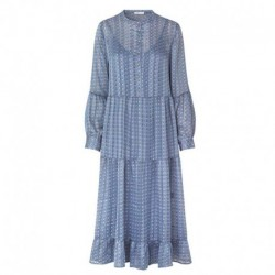 DOVE BLUE COMBI LR-DAVINA 1 dress - 400109 fra Levete Room