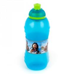 Drikkeflaske fra Sistema - 330 ml Squeeze med Twist N Sip - Aqua/Lime
