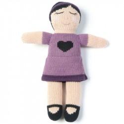 Dukke fra Smallstuff - Lilla med hjerte