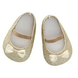 Dukkesko Glitter Guld By Astrup