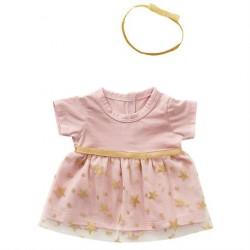 Dukketøj tyl kjole med hårbånd By Astrup