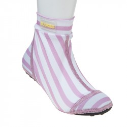 Duukies beachsock - pink stripes