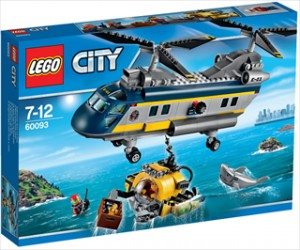 Dybhavs-helikopter - 60093 - LEGO City