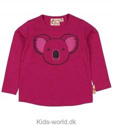 DYR Bluse - Roar - Pink m. Koala/Glitter