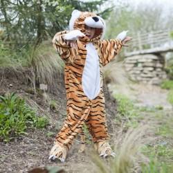 Dyrekostume Tiger Udklædning str. 3 år - 5 år Travis Designs