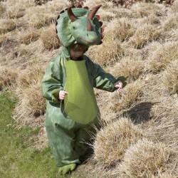 Dyrekostume Triceratops Dinosaur str. 6 - 8 år Travis Designs