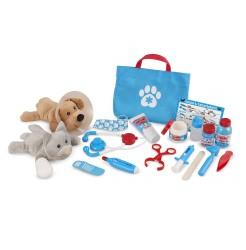 Dyrlægesæt fra Melissa & Doug - Pet Vet Play Set - Examine & Treat