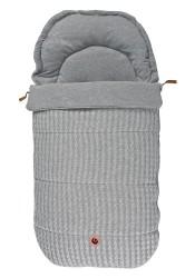 Easygrow Grandma old kørepose grey melange