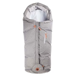 Easygrow kørepose - Hood Norse - Lys grå