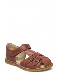 Ecological Closed Retro Sandal, Medium/Wide Fit