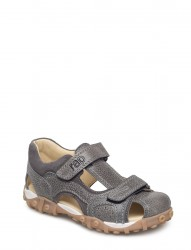 Ecological Hand Made Closed Sandal, Wide Fit