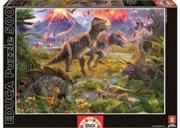 Educa - Dinosaur Gathering (500 pcs)