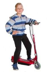 EL-løbehjul GoGo Rød, kører op til 12 km/t