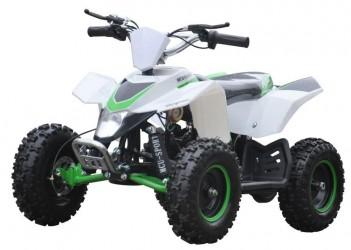 EL Mini ATV 1000W m/fart begrænser+lys 36V14AH Grøn