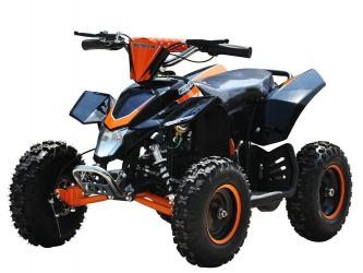 EL Mini ATV 1000W m/fart begrænser+lys 36V14AH Orange