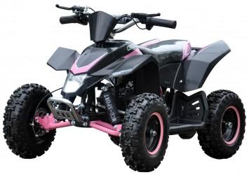 EL Mini ATV 1000W m/fart begrænser+lys 36V14AH Pink
